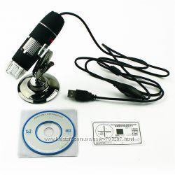 Микроскоп USB с увеличением в 1000  раз