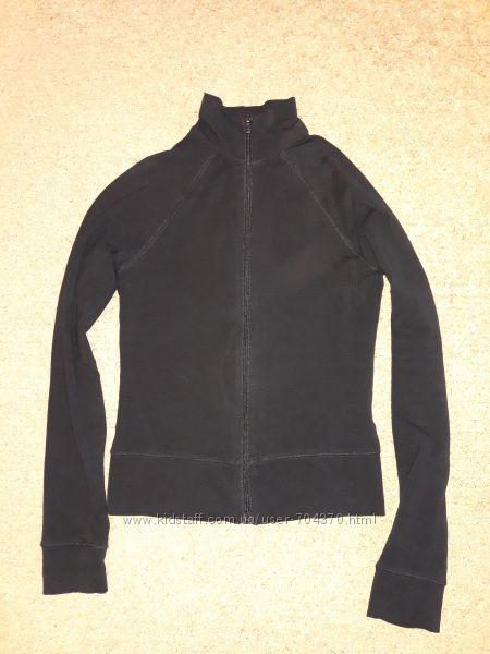 Кофта черная короткая H&M XS р. 146-158