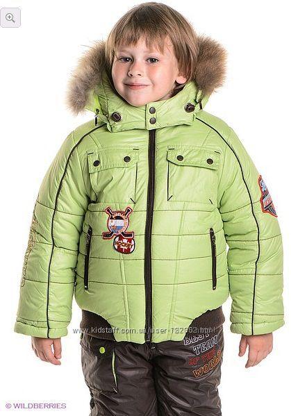 Теплая зимняя куртка Baby Line размер 104