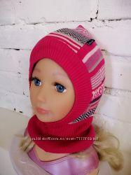 шапка шлем на девочку