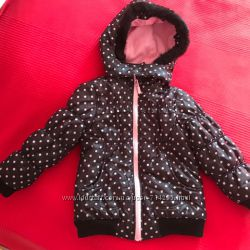 Теплая куртка на девочку 3-5 лет