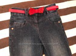 Стильные джинсы на девочку от TU 4 года рост 104 см