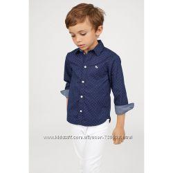 H&M рубашка хлопок в наличии