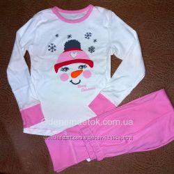 Пижама для девочки мод262 Фламинго