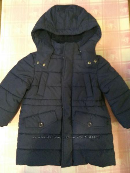 Продам зимнюю куртку Chicco Marines Thermore, размер 2, оригинал