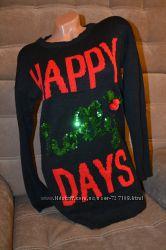 Оригинальный удлиннённый свитер Atmosphere