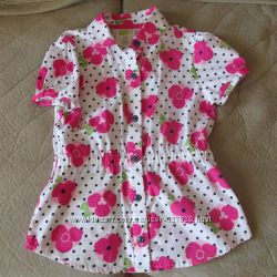 Блузочка нарядная на 5-6 лет
