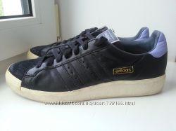 Кожаные кеды Adidas 40р. 25. 5 см.