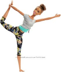 Барби брюнетка Barbie Made to Move Doll, Brunette