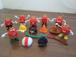 Игрушки из МакДональдс, коллекция 2012 года, Хеппи Мил