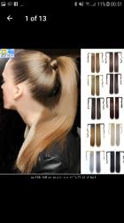 Продам накладне волосся Чудовий хвіст зі штучного волосся