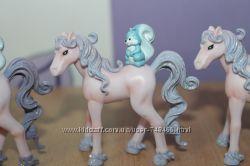 Яркие красочные персонажи феи эльфы лошадки elc