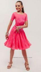 Бальное турнирное рейтинговое платье бейсик на 10-12 лет. Цену снизила