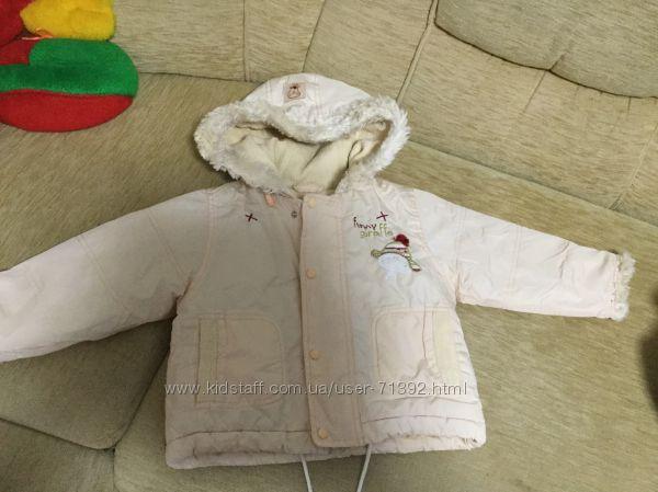 Тёплая куртка wojcik 92 размера