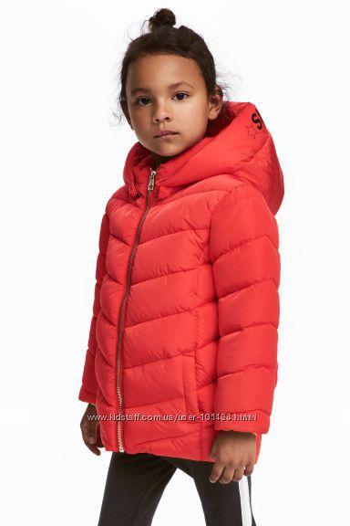 Яркая красивая куртка H&M демисезон, еврозима 110см