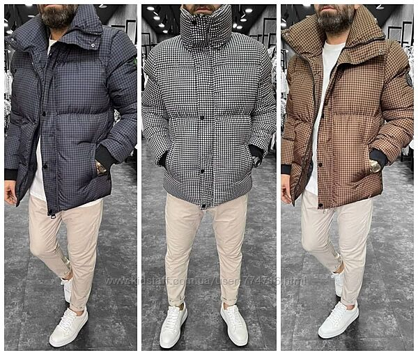 Зимний мужской топ пуховик Hugo мужская куртка парка Турция S-XXL
