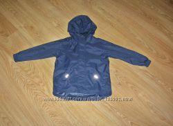 Куртка, дождевик Mothercare. Англия. 5-6 лет. Рост 116  С капюшоном Складыв