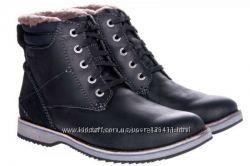 Новые, кожаные зимние ботинки CLARKS, Оригинал