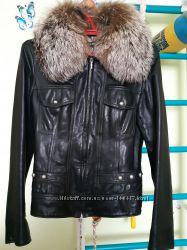 d153881b921 Кожаная куртка Mefi