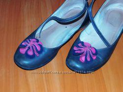 Туфли кожаные фирма Emel