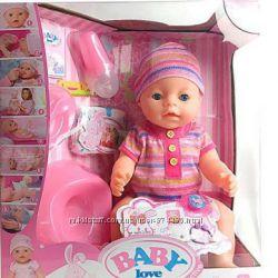 Пупс функциональный Baby Love
