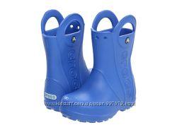 Сапожки Crocs Handle Rain Boot дождевикиC11, С12, J1 Оригинал