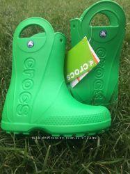 Crocs сапоги дождевики C12 оригинал