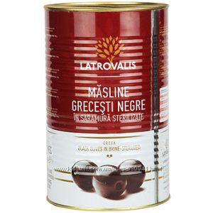 Черные оливки без косточки Latrovalis, 4500 Супергигант