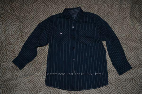 рубашка мальчику Matalan на 6-7 лет рост 122 Англия