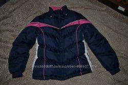 зимняя курточка девочке London fog 12-14 лет в отл сост рост 158-164