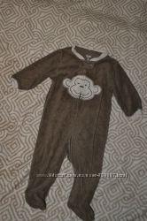 махровый слип пижама человечек Carter&acutes 6 мес рост 68