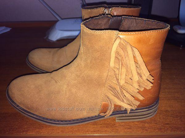 Продам наши кожаные ботиночки Некст 1 размера