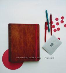 Изготовление блокнотов в деревянной обложке
