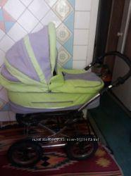 Продам детскую коляску 2 в 1 Adamex Classic