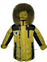 Зимняя куртка парка на мальчика