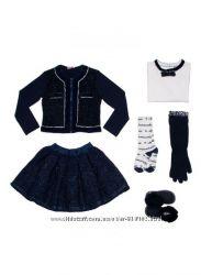 Нарядный костюм пиджак и юбка Monnalisa, 3-5 лет, оригинал