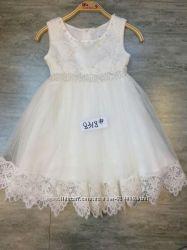Праздничное нарядное детское платье большой выбор