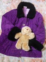 курточка пальто 4т осень