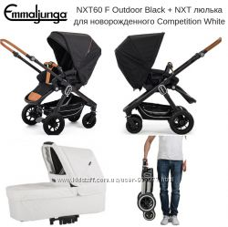Emmaljunga NXT60 F Outdoor Black  NXT Competition White