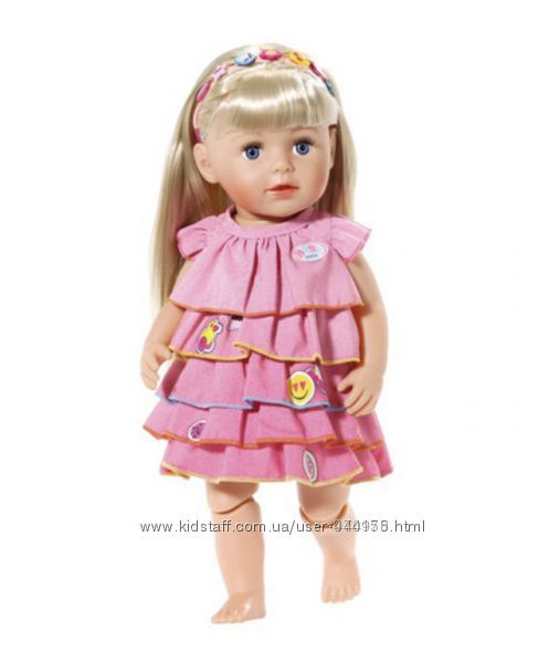 Платье для куклы ZAPF 824481