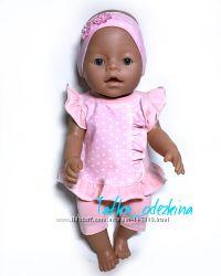 Бриджи и футболка для куклы