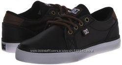 Кожаные Сникерсы  Кроссовки мокасины  DC Council Skate Shoe . 20см США