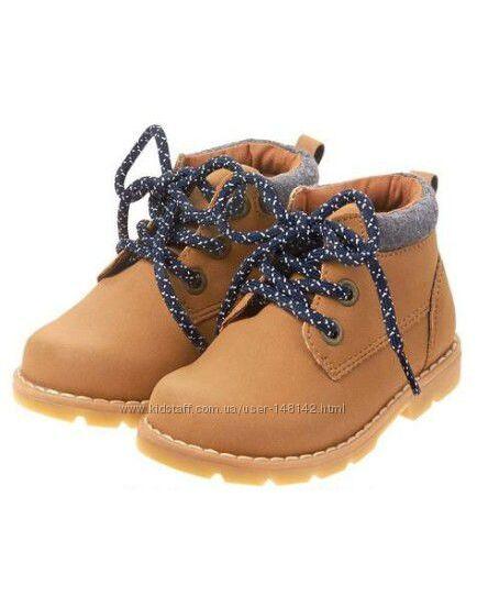 Демисезонные ботинки Gymboree Джимбори  США 3 US стелька 22-22, 5 см