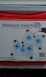 Охлаждающая светящаяся подставка под ноутбук