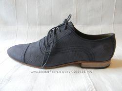 Мужские кожаные туфли Zara man р. 42, Индия