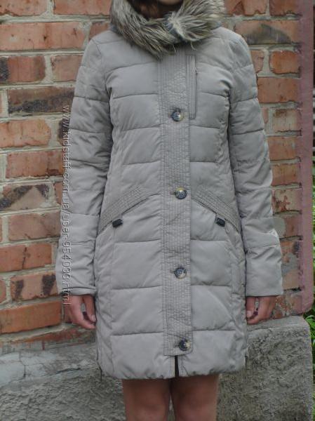 Теплый зимний пуховик TOM TAILOR размер XS