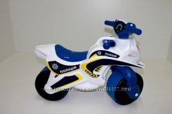Музыкальный мотоцикл-каталка, мотобайк, байк детский музыкальный, свет.