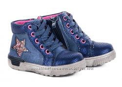 Демисезонные ботинки для девочек С. Луч р. 22 - 25