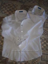 белые рубашки в школу Button Blue