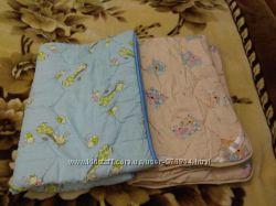 Одеяло, подушка детское теплое можно для двойни 100140